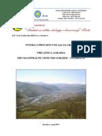 Studija o procjeni uticaja na okoliš Obilaznica Goražde