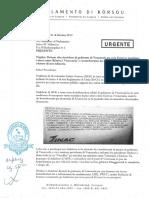 Petishon Pa Reunion Publiko Relashona Ku Frontera Entre Korsou i Venezuela