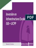 Inversión de Gobierno en Infraestructura Escolar