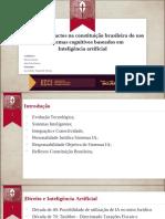 Estudo de Impactos Na Constituição Brasileira Do Uso de Sistemas Baseados Em Inteligência Artificial