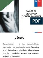 Presentación Fosis Violencia de Género