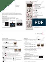 Guía de inicio rápido control SR-250
