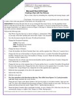 COM 140-10 Word Exam S19