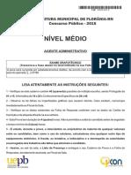 2 Agente Administrativo Florania Gab