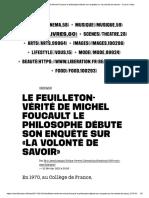Resenha_La Volonté de Savoir_Foucault