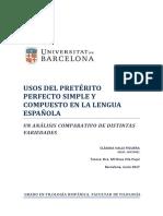 Usos del pretérito perfecto simple y compuesto en la lengua española