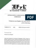 13º Teórico ILAC 22-06-2011