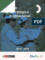 Plan Estratégico Institucional 2019 2022 Del OEFA