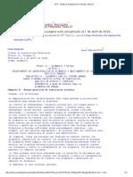 BPM - CFR - Código de Regulaciones Federales Título 21