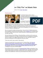 Russia Declares Holy War on Islamic State - 10/6/15 - RaymondIbrahim.com