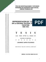Representación de lo negro en la escena teatral de Mérida Yucatán 1890-1944. Lectura.pdf