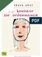 Barbara Abel - Le bonheur sur ordonnance.pdf