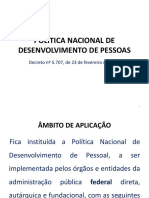 Política Nacional de Desenvolvimento de Pessoas