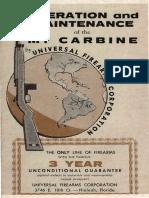 Operation Maintenance M1 Carbine