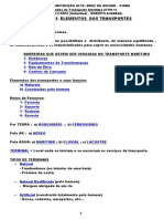 (ETM) - UNIDADE 1 - Elementos Dos Transportes (CLC-FDPO) - Roberto Andrade)