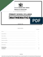 Maths_Primary School Curriculum
