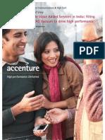 Accenture Research Mobile Value Add India