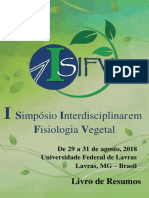 Anais do I Simposio Interdisciplinar em Fisiologia Vegetal