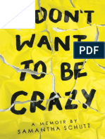 I Don't Want to Be Crazy Excerpt