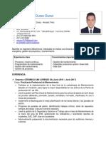 CV Duran Duran Augusto