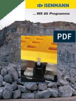 poliuretano - mallas WS85