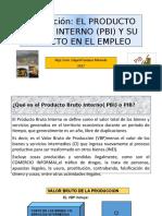 Ecm.-exposicion Sobre Pbi y Empleo