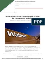 21-02-19  Walmart reconoce a sus mejores aliados en transporte y logística _ Transportes y Turismo