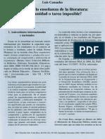 Logica en la enseñanza de la literatura oportunidad o tares imposible.pdf