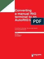 Converting a Manual RTG Terminal to an AutoRTG Terminal