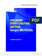 eBook Software - Aplikasi Penyusutan Aktiva Excel
