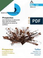 Boletín de Oportunidades Edición 14