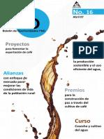 Boletín de Oportunidades Edición 16