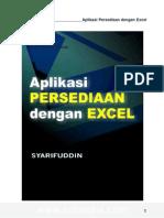 eBook Software - Aplikasi Stok Persediaan Excel
