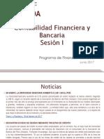 Sesión I - Cont. Financiera y Bancaria