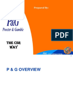 Procter and Gamble CSR.ppt