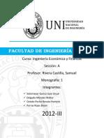 Monografia Economia Verano 2012