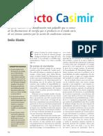 Efecto Casimir