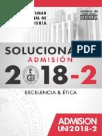 solucionario UNI admisión 2018-2