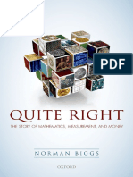 Norman Biggs - Quite Right_ the Story of Mathematics, Measurement and Money (2016, Oxford University Press)
