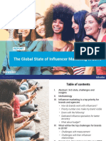 Talkwalker the Global State of Influencer Marketing in 2019