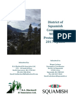 The Squamish wildfire plan