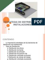 Estrategias de Distribucion de Instalaciones