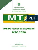 Afo- Manual Técnico Do Orçamento