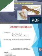 YACIMIENTOS OROGENICOS