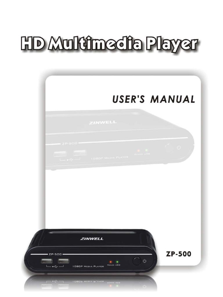Zp 500 manual