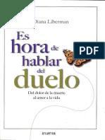 Es Hora de Hablar Del Duelo - Diana Liberman