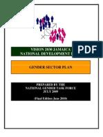 JAMAICA Gender Sector Plan