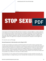 HW1 - Sexual Harrassment Clauses in NY