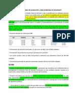 CASO 6-1 Prepare Un Plan de Producción_ Qué Problemas Se Presentan