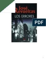 Los errores José Revueltas